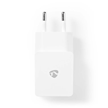 Nedis | Poweradapter | Wandoplader | 2,4 A | 1 uitgang | USB-A | Wit
