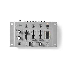 DJ-Mixer   3 Stereokanalen   Crossfader   Talkover-Functie