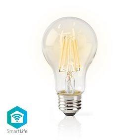 Nedis   Slimme LED-Lamp met Gloeidraad en Wi-Fi   E27   A60   5 W   500 lm   Helder