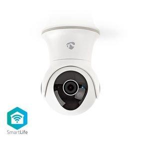 Nedis | WiFi smart IP-camera | Draaien/Kantelen | Full-HD 1080p | Buiten | Waterbestendig