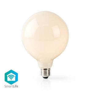 Nedis   WiFi Smart LED-Lamp   E27   125 mm   5 W   500 lm   Retro   Wit