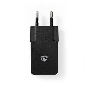 Nedis   Poweradapter   Wandoplader   2,4 A   1 uitgang   USB-A   Zwart