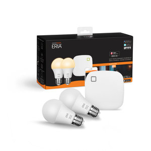 AduroSmart   Eria Starterset light - Appcontrol Warm white (Bridge + 2 x E27 lampen)